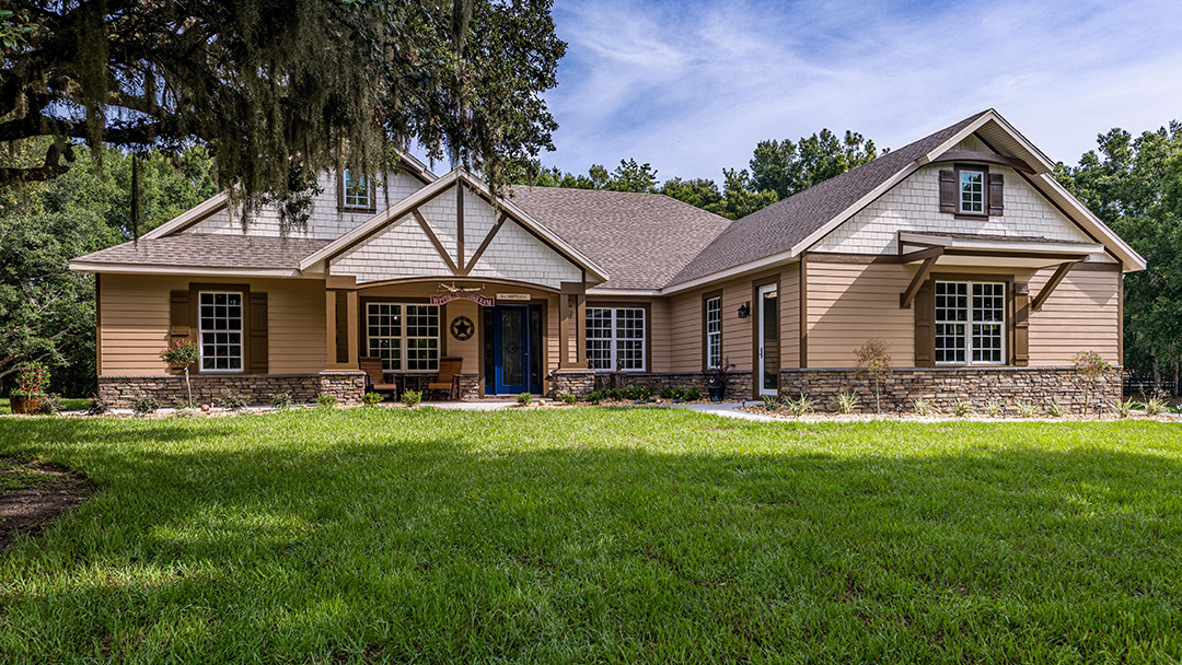 Custom Rustic Homes in Central Florida