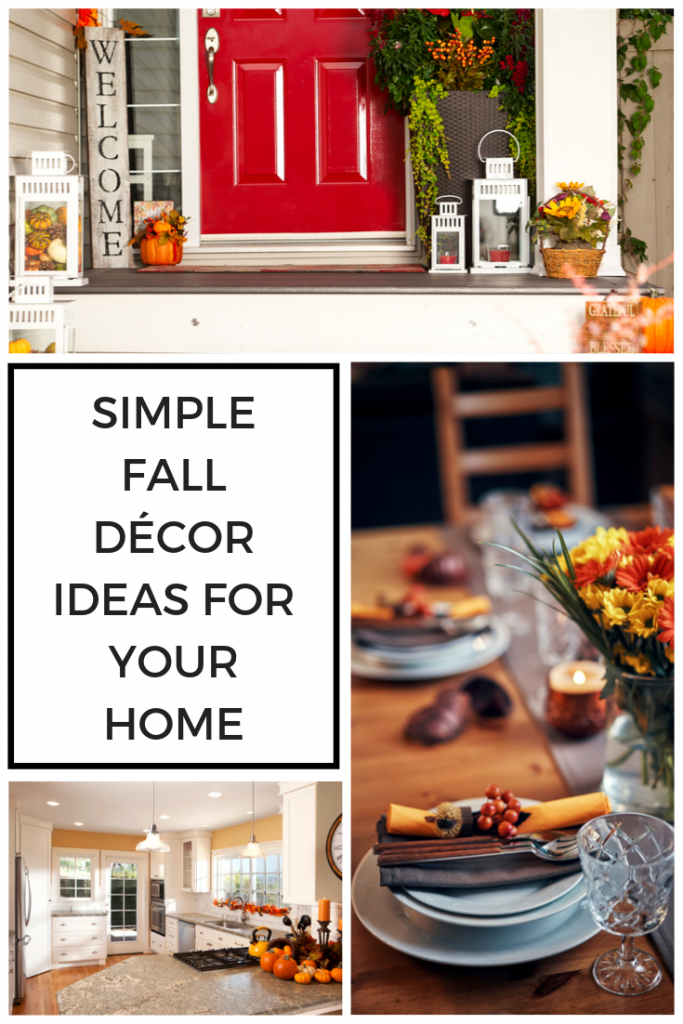 Simple Fall Décor Ideas for Your Home