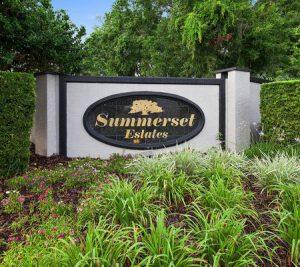 Summerset Estates Entrance
