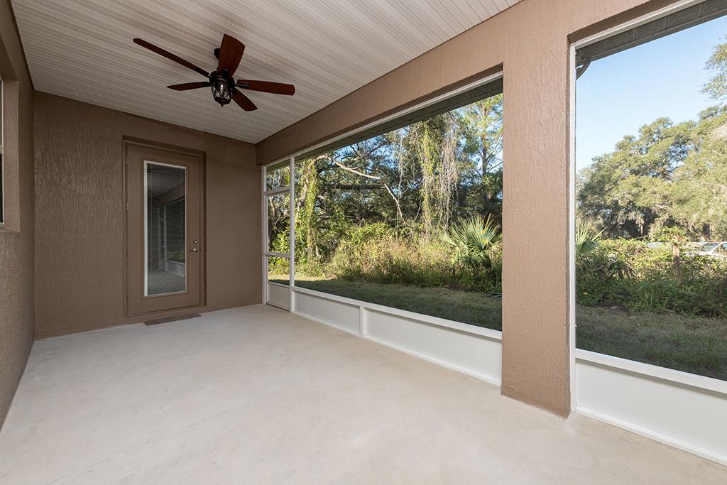 Southern Sunrise - Back Porch