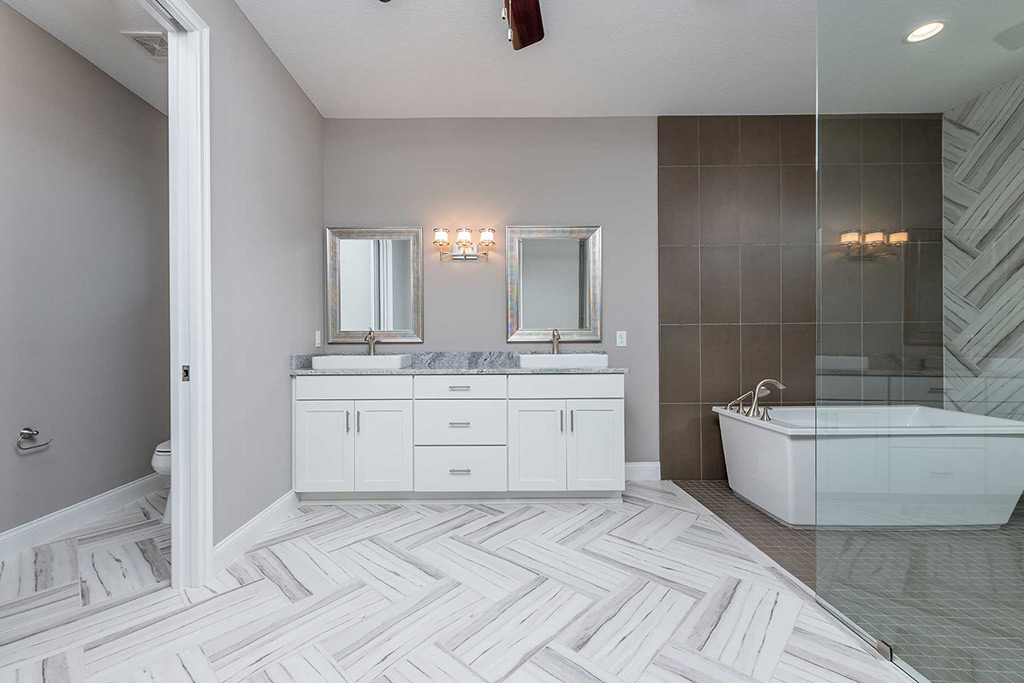 Simply Sunrise - Master Bath